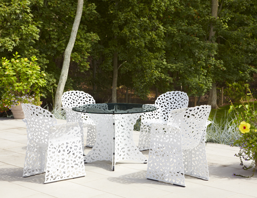Knoll Topiary Dining Collection by Richard Schultz