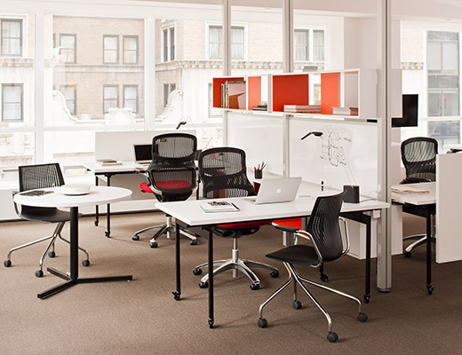 Knoll Vertical Power and Antenna Workspaces