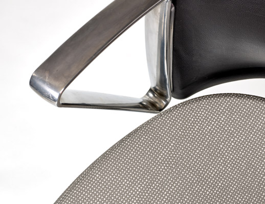 Brigadoon Vinyl Upholstery on Knoll Office Chair