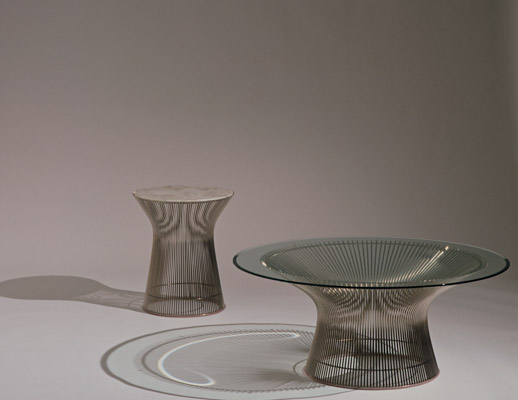 Platner Coffee Table and Side Table