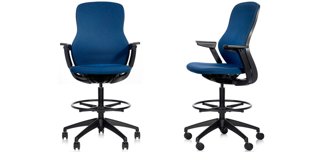 ReGeneration by Knoll Ergonomic Stool High Task Chair