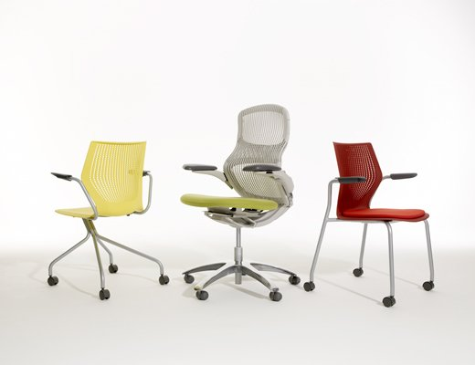 ... MultiGeneration By Knoll Stacking Chair ...