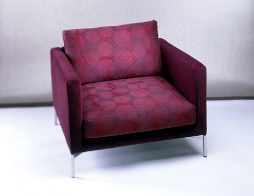 Divina Lounge Chair in Spotlight Upholstery