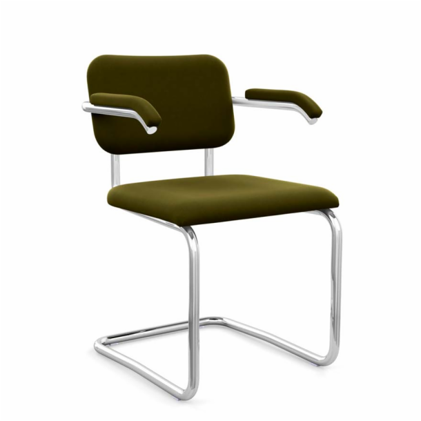 Cesca<sup>™</sup> Chair - Arm Chair with Upholstered Seat & Back