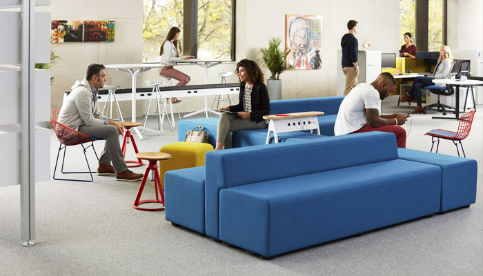 k.™ lounge with Horsepower® and Piton™ Stools