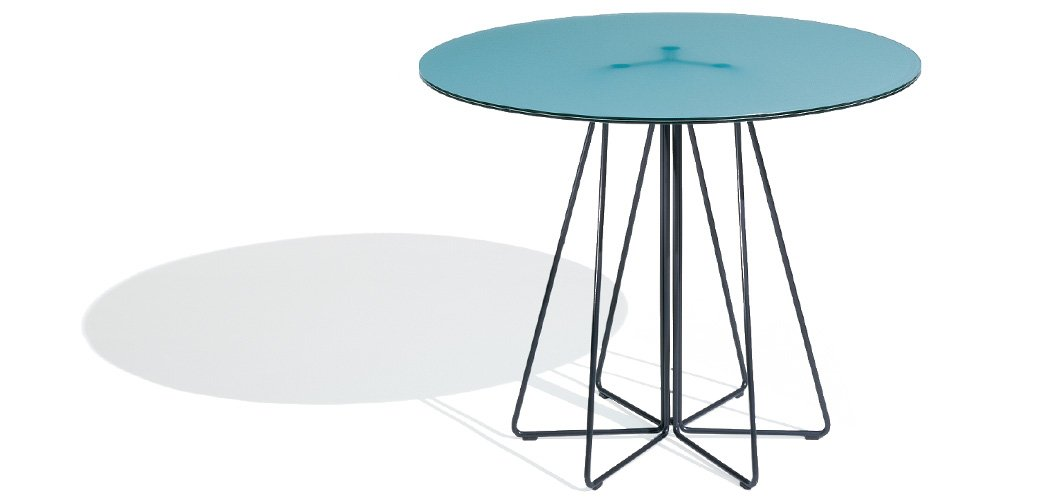 Knoll Vignelli Paper Clip Table by Massimo and Lella Vignelli
