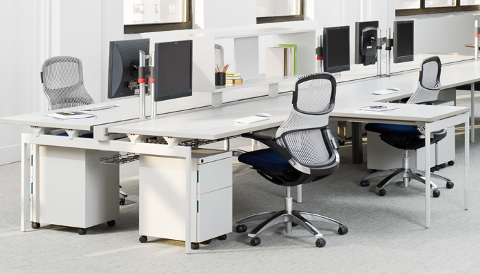Antenna® Workspaces with Generation by Knoll® Task Chairs