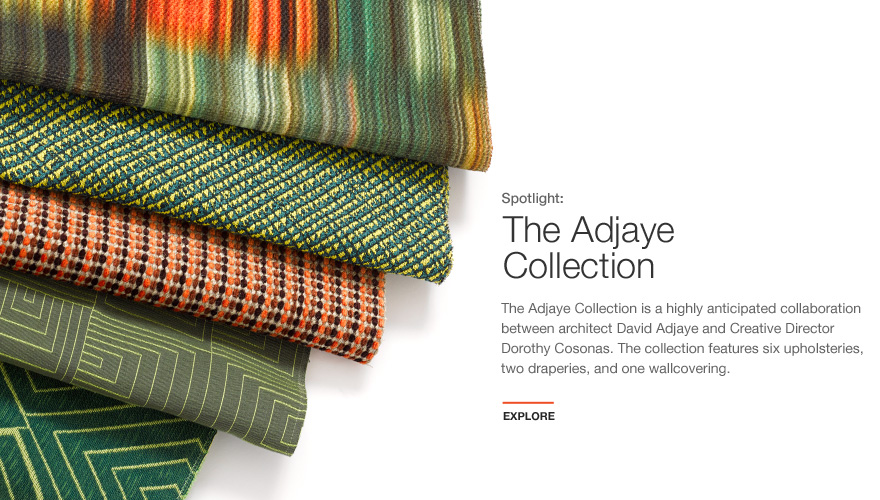 The Adjaye Collection for KnollTextiles by David Adjaye