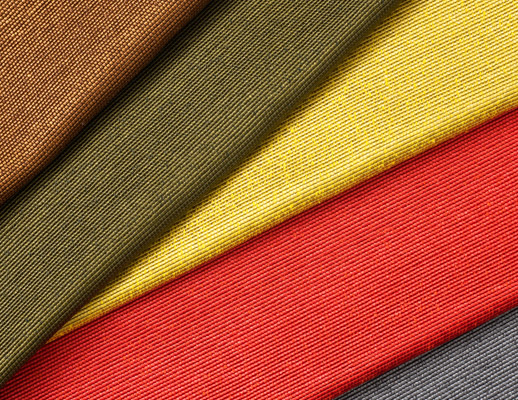 The Hallmark Collection KnollTextiles Juno Crown Wilderness Pear Chili Pepper Storm Acrylic polyester  Recycled Cotton novelty yarn weave woven red yellow gray grey brown texture Crown Wilderness Pear Chili Pepper Storm