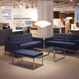 Florence Knoll Lounge Chairs and Sofas at NeoCon 2010