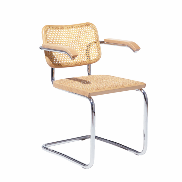 Cesca<sup>™</sup> Chair - Arm Chair with Cane Seat & Back