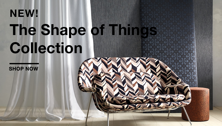 KnollTextiles The Shape of Things Collection