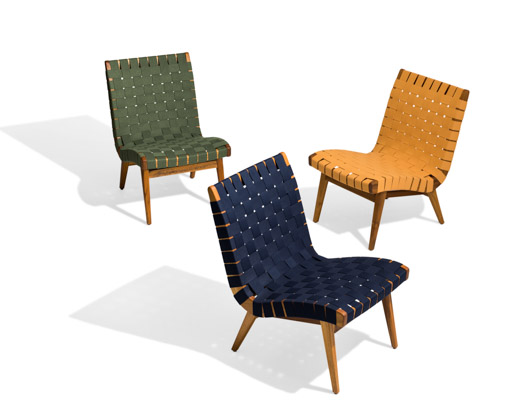 Risom Outdoor Lounge Chair Knoll