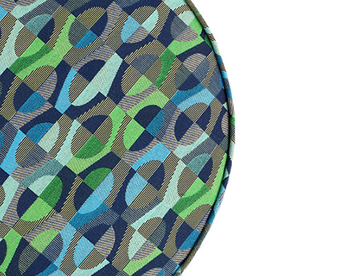 KnollTextiles Bistro Upholstery Blue and Green