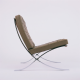 Chrome Barcelona Lounge Chair