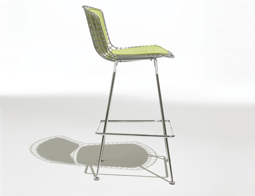 Peachy Bertoia Barstool Knoll Gmtry Best Dining Table And Chair Ideas Images Gmtryco