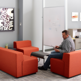Knoll k lounge Drop in space
