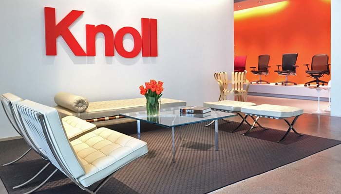 dallas showroom knoll locations