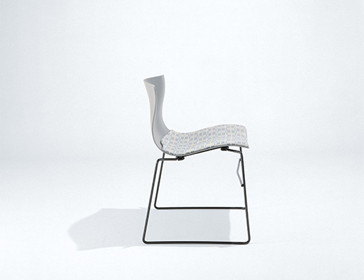 Handkerchief Armless Side Chair