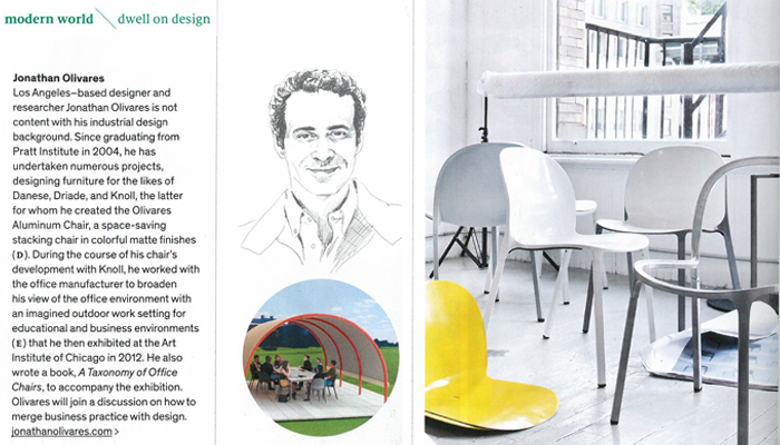 Jonathan Olivares Called an Emerging Talent by Dwell Magazine