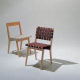 Knoll brown Jens Risom Side Chairs