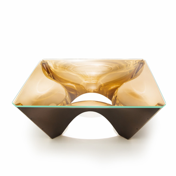 Washington corona bronze coffee table by david adjaye knoll Bronze coffee tables