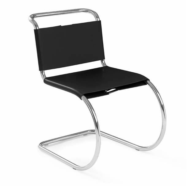 MR Chair - Armless with Leather Sling Seat