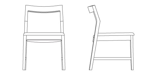 Krusin Side Chair Knoll