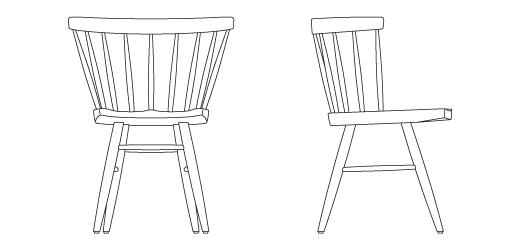 Straight Chair Knoll