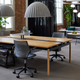 multigeneration by knoll formway design antenna workspaces big table rockwell unscripted storage cart muuto under the bell pendant lamp san francisco showroom