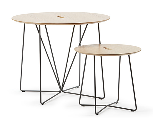 Rockwell Unscripted occasional table round top café table side table