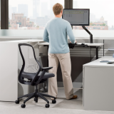 Adjustable Height Desk and ReGeneration by Knoll