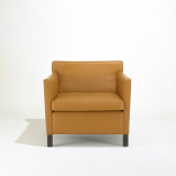 Mies van der Rohe Krefeld Lounge Chair in leather