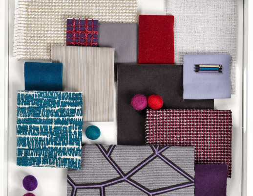 The Bonjour Collection - Purple Mood Board