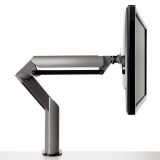Knoll Medium Grey Sapper XYZ Monitor Arm