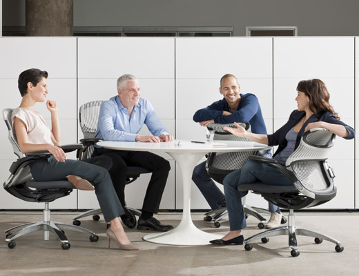 Generation by Knoll promotes interaction and collaboration which are increasingly at the core of dynamic organizations