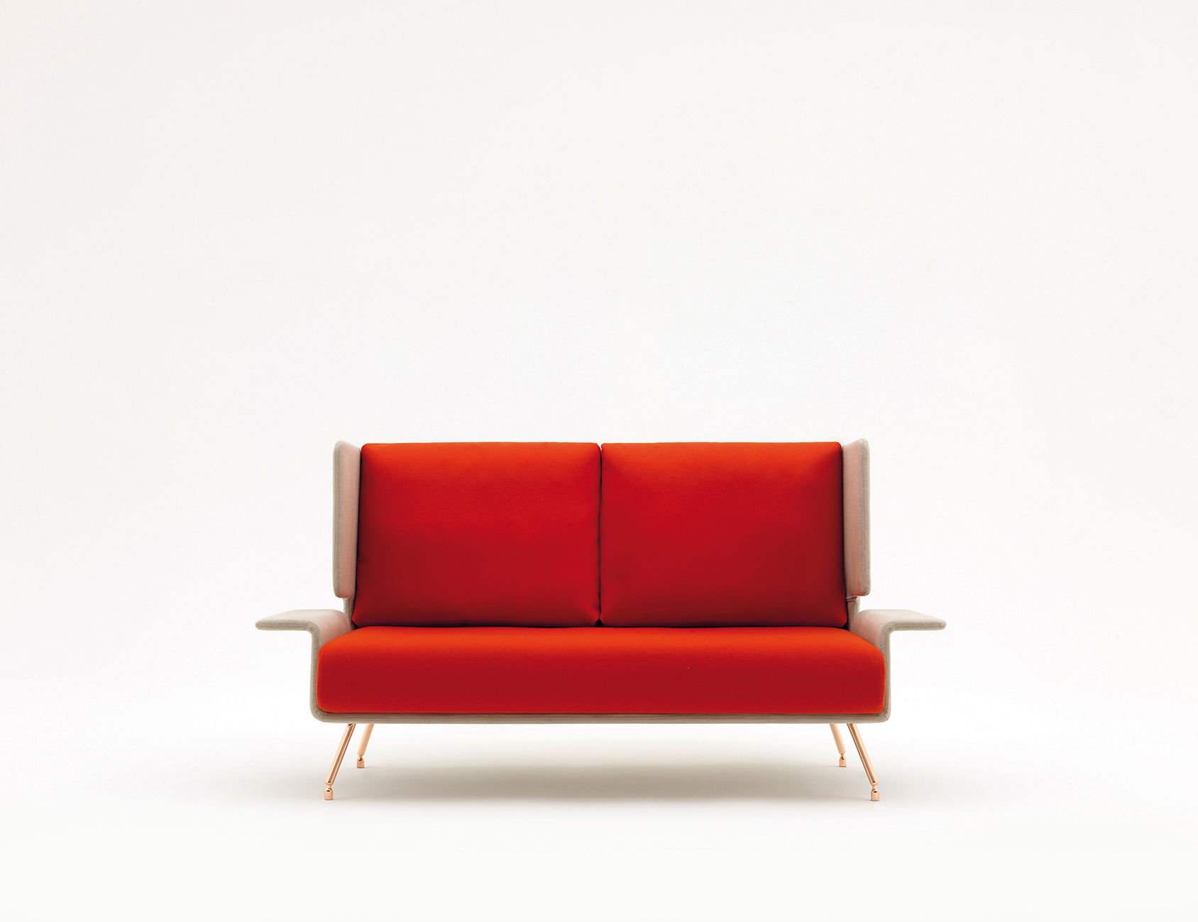 Architecture & Associés Residential Sofa and Ottoman