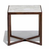 Knoll American Walnut Krusin Side Table