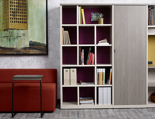 Knoll Template Storage for Community Spaces