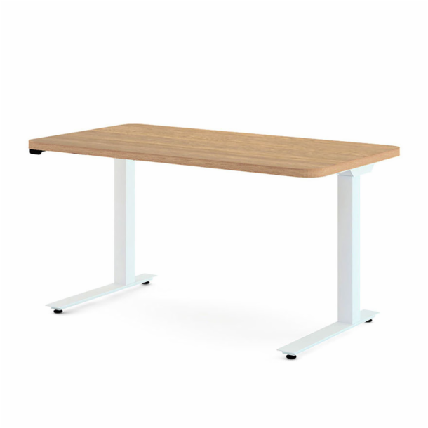 "Hipso Height‑Adjustable Desk - 57"" x 30"""