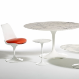 Eero Saarinen Pedestal Collection Tables Dining Table Side Table Oval Dining Table Tulip Armchair Tulip Armless Armchair