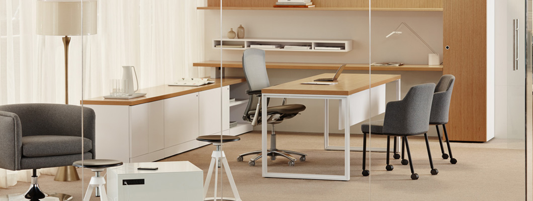 Discover Knoll Private Office Systems and Wall mounted furniture
