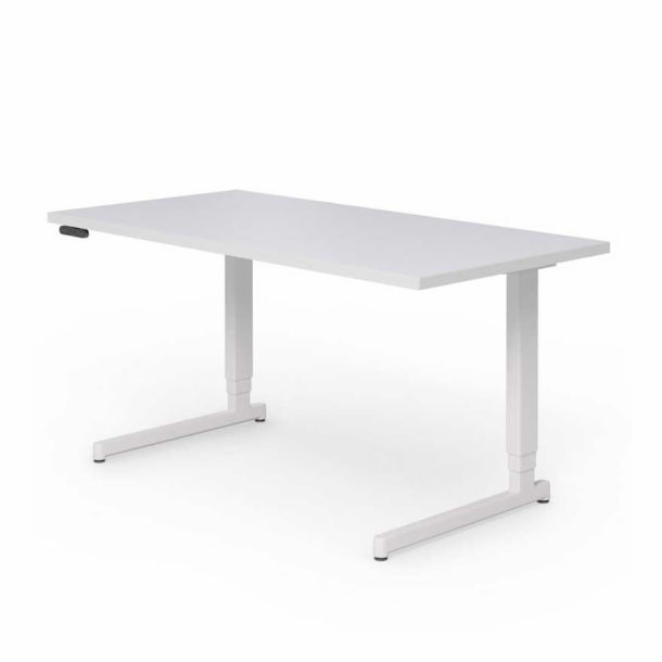 "Pixel<sup>™</sup> Height‑Adjustable Desk - 60"" x 30"" C‑Leg"