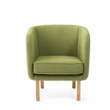 Rockwell unscripted petite club chair