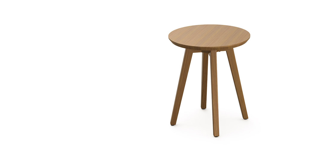 Knoll Risom Outdoor Side Table by Jens Risom