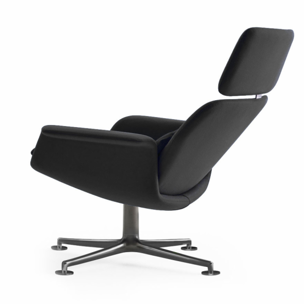 KN02 - Swivel and Reclining High Back Lounge Chair