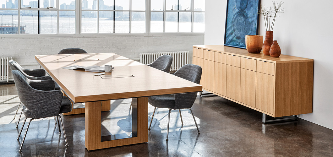 DatesWeiser Highline 50 Table Conference and Meeting Table Series