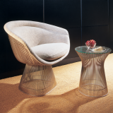 Platner Lounge Chair and Table