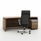 Reff Profiles Private Office height adjustable Desk mobile pedestal cushion