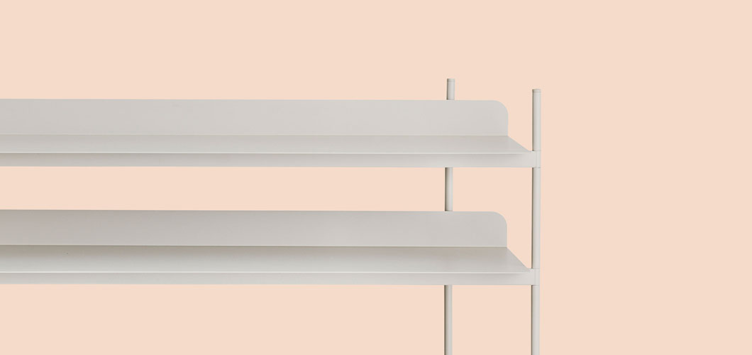 Muuto Compile Shelving System - Grey